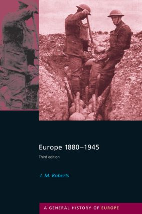 Europe 1880-1945: 3rd Edition (Paperback) book cover