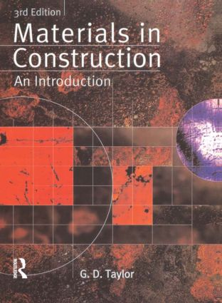 Materials in Construction: An Introduction book cover
