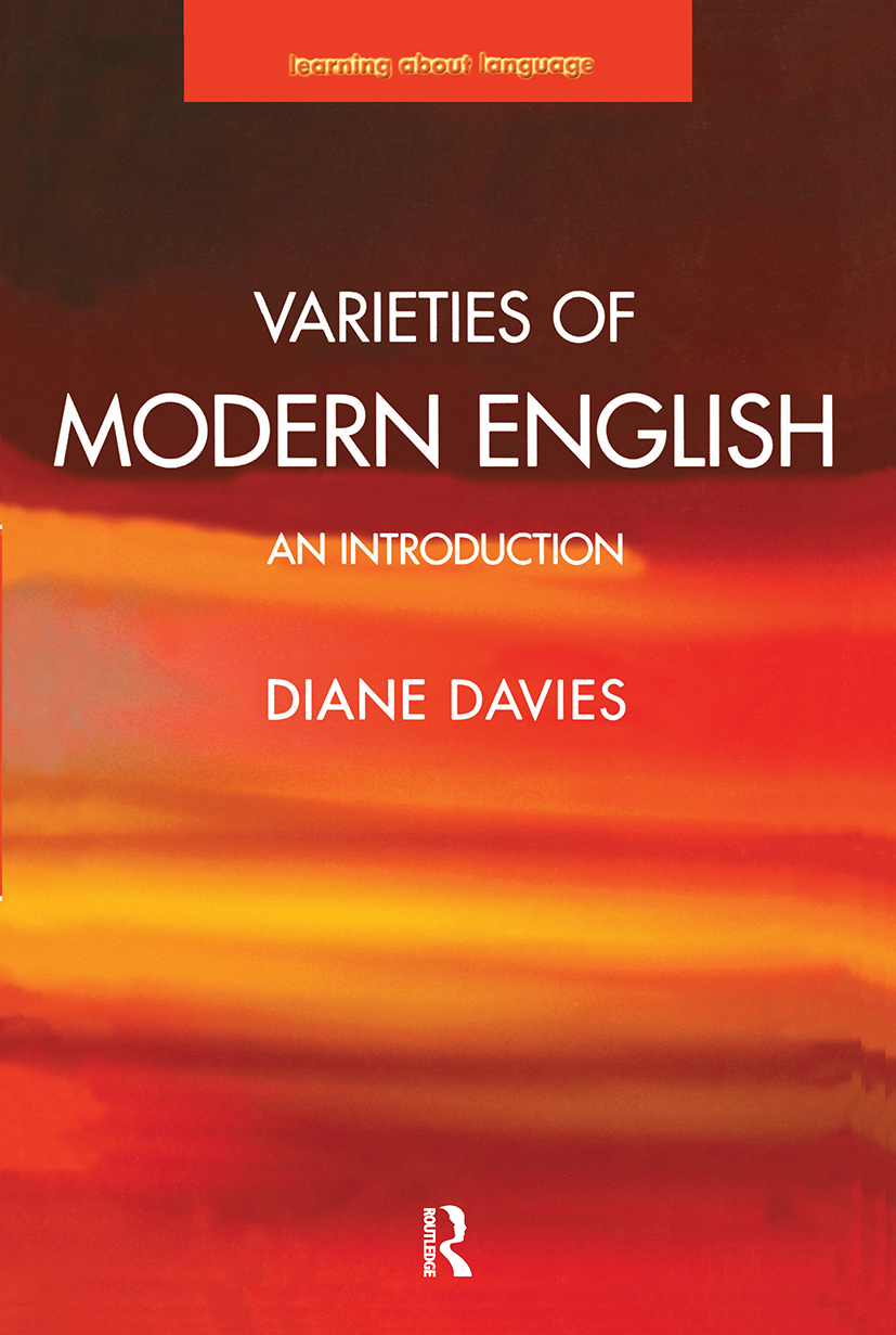 Varieties of Modern English: An Introduction book cover