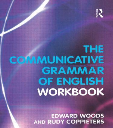 The Communicative Grammar of English Workbook: 1st Edition (e-Book) book cover
