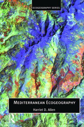 Mediterranean Ecogeography book cover