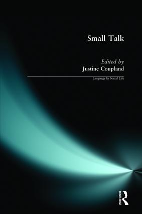 Small Talk: 1st Edition (Paperback) book cover