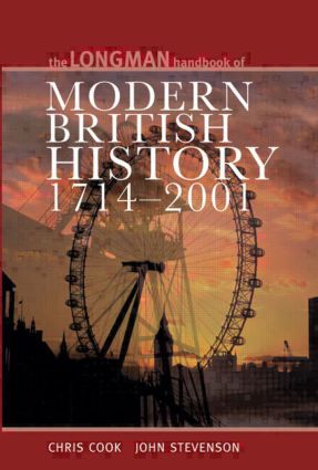 Longman Handbook to Modern British History 1714 - 2001: 4th Edition (Paperback) book cover