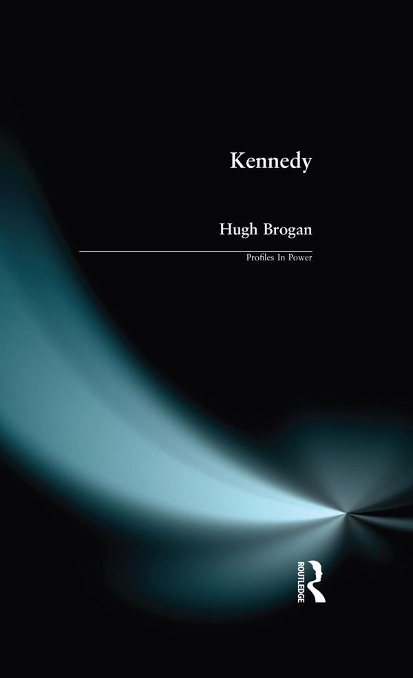 Kennedy: 1st Edition (Paperback) book cover