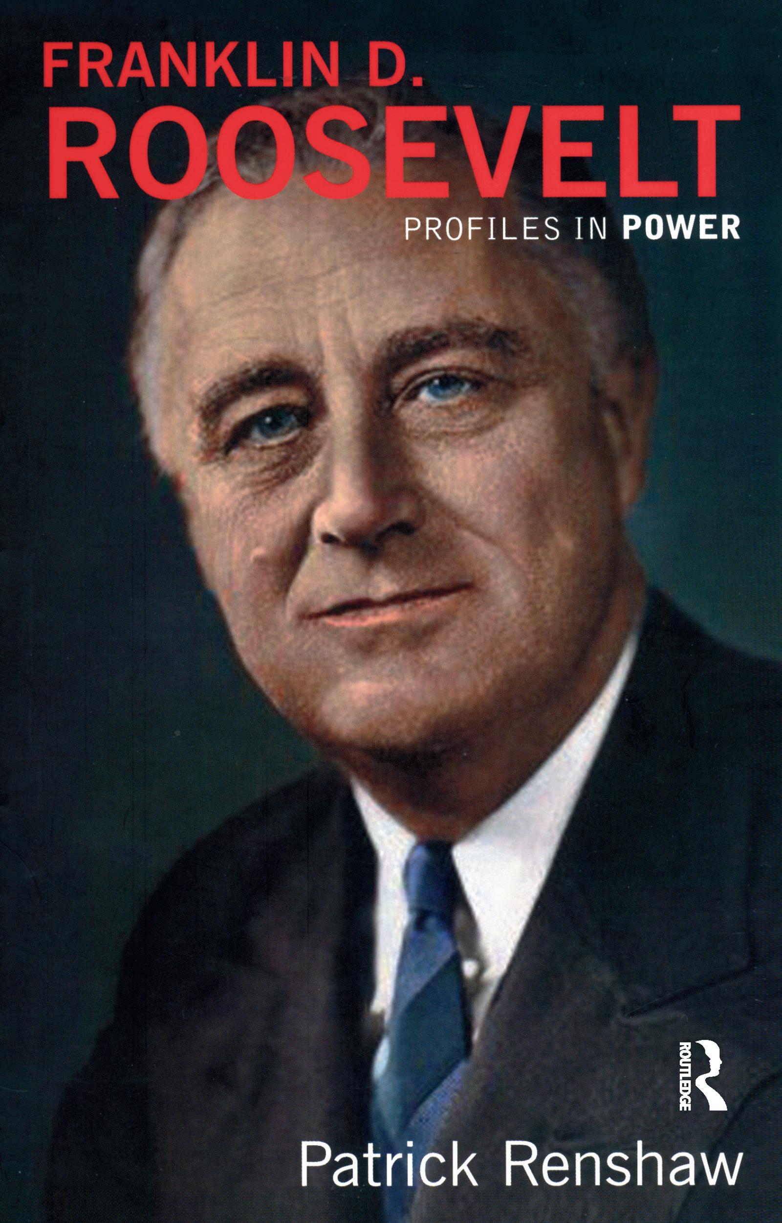 Franklin D Roosevelt book cover