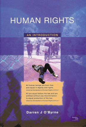 Human Rights: An Introduction, 1st Edition (Paperback) book cover