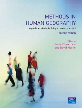 Methods in Human Geography: A guide for students doing a research project, 2nd Edition (Paperback) book cover