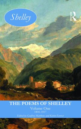 The Poems of Shelley: Volume One: 1804-1817 book cover