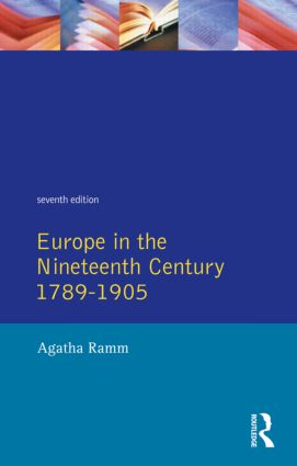 Grant and Temperley's Europe in the Nineteenth Century 1789-1905: 1st Edition (Paperback) book cover