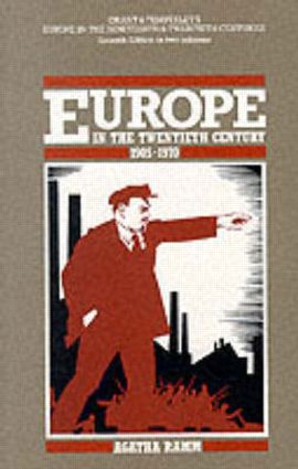 Grant and Temperley's Europe in the Twentieth Century 1905-1970: 1st Edition (Paperback) book cover