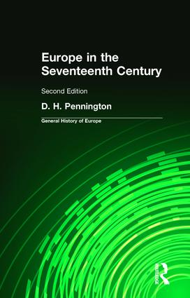 Europe in the Seventeenth Century: 2nd Edition (Paperback) book cover