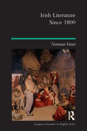 Irish Literature Since 1800: 1st Edition (Paperback) book cover