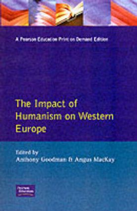 Impact of Humanism on Western Europe During the Renaissance, The