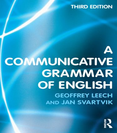 A Communicative Grammar of English: 3rd Edition (Paperback) book cover