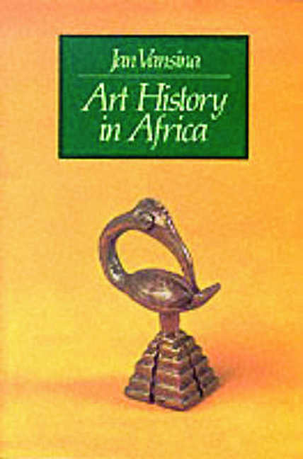 Art History in Africa: 1st Edition (Paperback) book cover