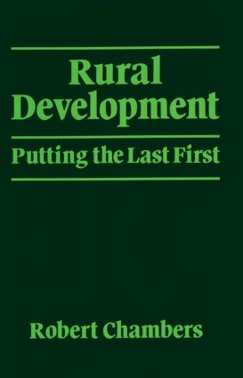 Rural Development: Putting the last first, 1st Edition (Paperback) book cover