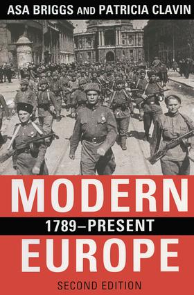 Modern Europe, 1789-Present: 2nd Edition (Paperback) book cover