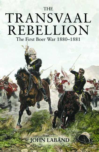 The Transvaal Rebellion: The First Boer War, 1880-1881, 1st Edition (Paperback) book cover