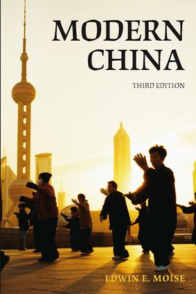 Modern China: 3rd Edition (Paperback) book cover