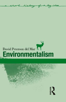 Environmentalism: 1st Edition (Paperback) book cover