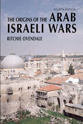 The Origins of the Arab Israeli Wars book cover