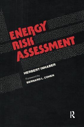 Energy Risk Assessment: 1st Edition (Hardback) book cover