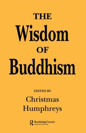 The Wisdom of Buddhism (Paperback) book cover