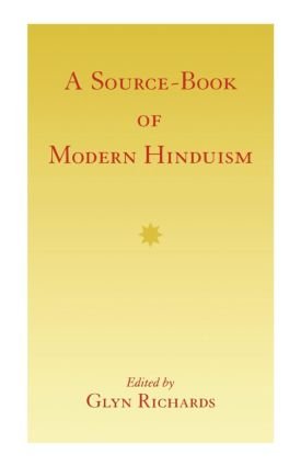 A Source-Book of Modern Hinduism: 1st Edition (Paperback) book cover
