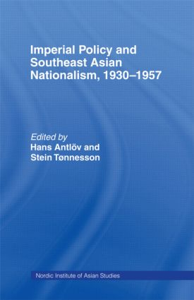 Imperial Policy and Southeast Asian Nationalism: 1st Edition (Hardback) book cover