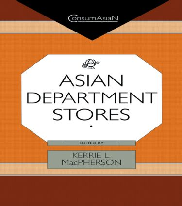 Asian Department Stores (Hardback) book cover
