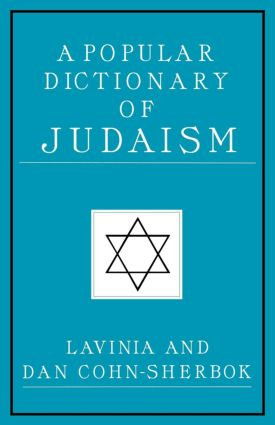 A Popular Dictionary of Judaism: 1st Edition (Paperback) book cover