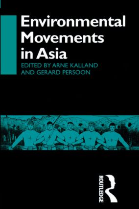 Environmental Movements in Asia (Paperback) book cover