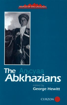 The Abkhazians: A Handbook (Hardback) book cover