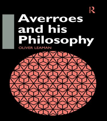 Averroes and His Philosophy: 1st Edition (Paperback) book cover