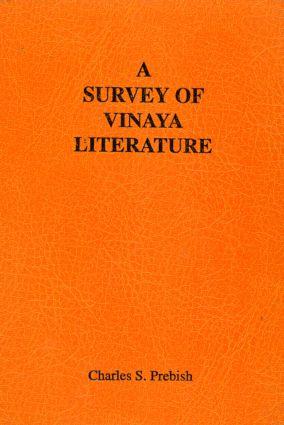 A Survey of Vinaya Literature book cover