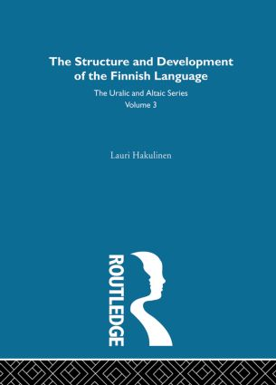 The Structure and Development of the Finnish Language (Hardback) book cover