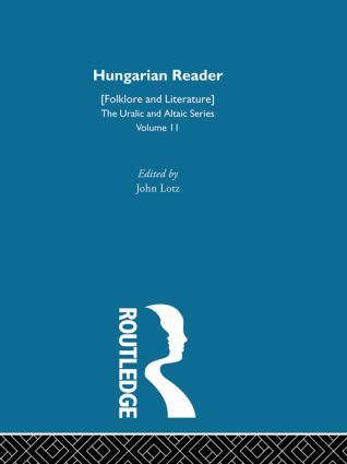 Hungarian Reader: 1st Edition (Hardback) book cover