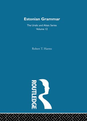 Estonian Grammar (Hardback) book cover