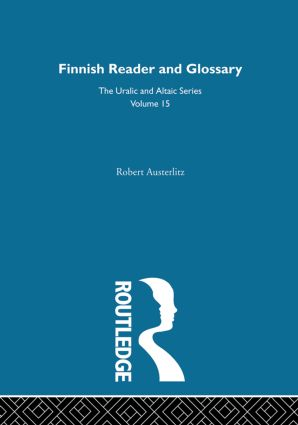 Finnish Reader and Glossary: 1st Edition (Hardback) book cover