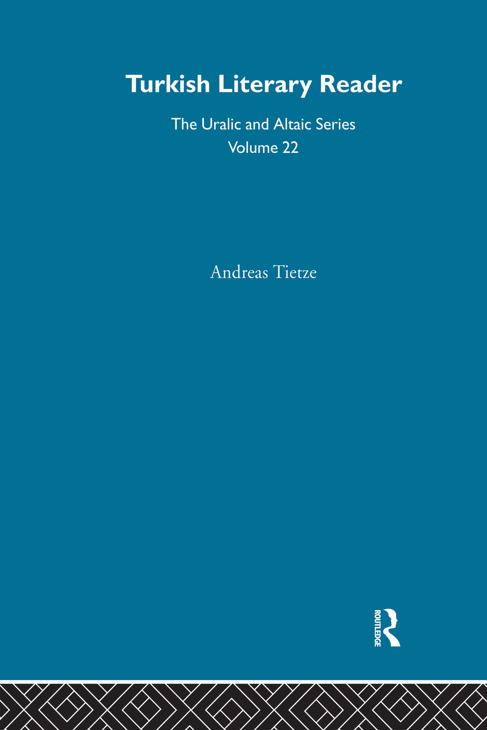 Turkish Literary Reader