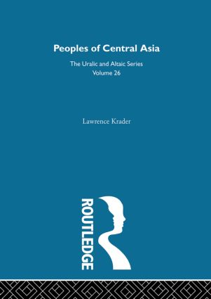 Peoples of Central Asia (Hardback) book cover