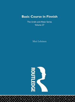 Basic Course in Finnish: 1st Edition (Hardback) book cover