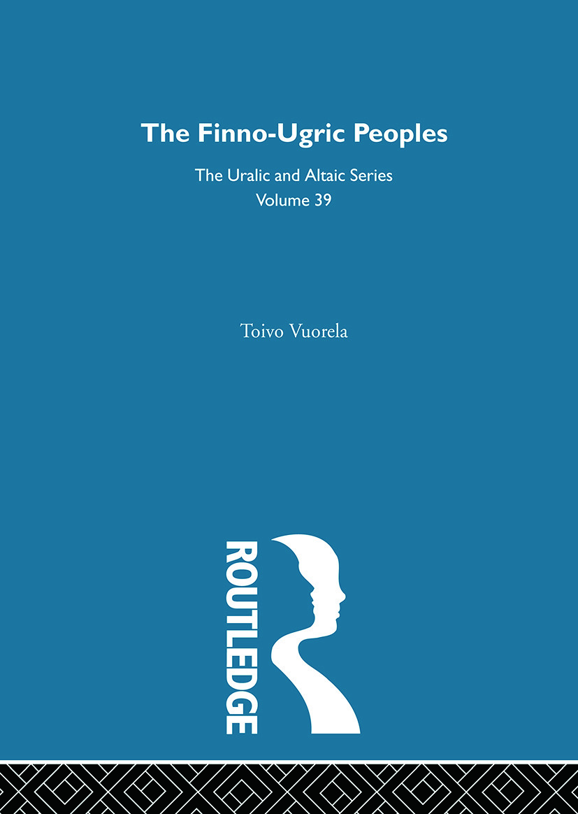 The Finno-Ugric Peoples: 1st Edition (Hardback) book cover