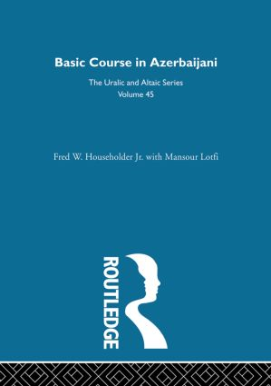 Basic Course in Azerbaijani (Hardback) book cover