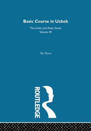 Basic Course in Uzbek