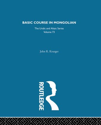 Basic Course in Mongolian (Hardback) book cover