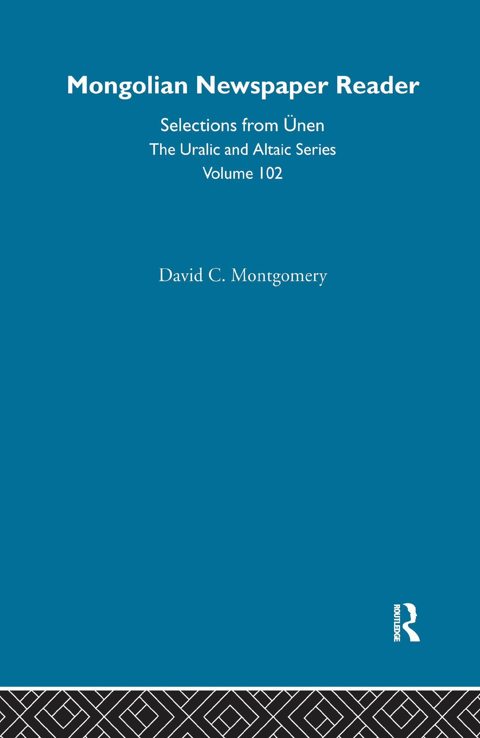 Mongolian Newspaper Reader
