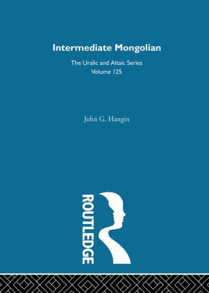Intermediate Mongolian: 1st Edition (Hardback) book cover