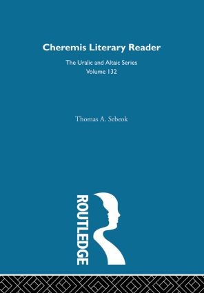 Cheremis Literary Reader With Glossary: 1st Edition (Hardback) book cover