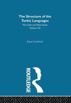 The Structure of the Turkic Languages: 1st Edition (Hardback) book cover